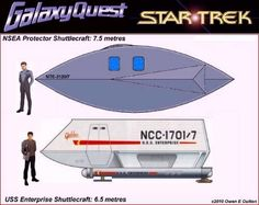 Galaxy Quest Ship   This page and all contents ©2009 Owen E. Oulton.