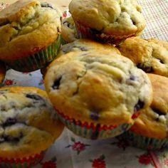 Blaubeer-Muffins mit Buttermilch