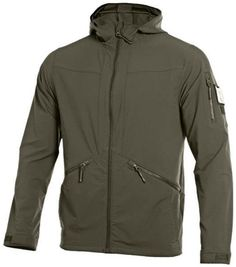 UNDER ARMOUR TACTICAL SOFTSHELL 2.0 JACKET This tactical jacket is ultra-light & engineered to work in any condition. The wind-resistant construction & the UA Storm beat back the elements, while the q