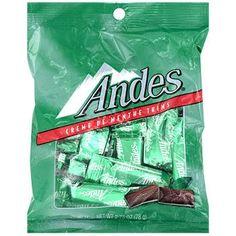 Andes Creme De Menthe Thins, 2.75-oz. Bags