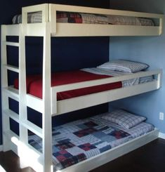 Triple bunk bed plans build | Furniture Reference Pictures