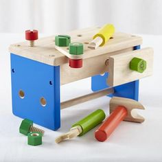Kids' Imaginary Toys: Pretend Tool Box Set Toy in All Toys...just like Pops
