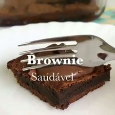 Brownie, Cacao, Instagram, Desserts, Food, Gourmet, Chocolates, Eat, Meal