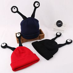 KIDSRUN New Fashion Autumn Winter Warm Knit Beanie Skullies Casual Kids Children Boy Girl Antenna Snail Hats Christmas. Yesterday's price: US $11.75 (9.72 EUR). Today's price: US $4.70 (3.89 EUR). Discount: 60%.
