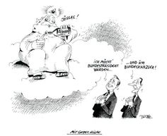 """OÖN-Karikatur vom 25. Oktober 2016: """"Mit Gottes Hilfe"""" Mehr Karikaturen auf: http://www.nachrichten.at/nachrichten/karikatur/ (Bild: Mayerhofer)"""