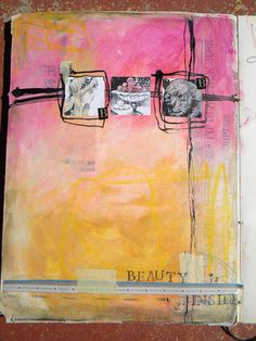 Art Journaling by Kristy Christopherson