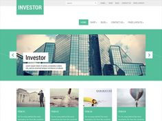 Investor is a perfect solution for you. This premium template comes with different variations of layout and you can customize it according to your preferences. It is compatible with the the latest version of WordPress, having top-notch design and great capabilities. In addition to the above the theme is search engine friendly, bringing more people to your site.