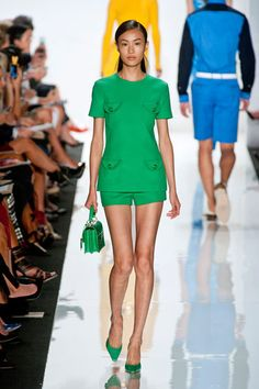 St Patrick's Day Style: 10 Chic Green Runway Looks: Michael Kors