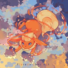 Flareon ^.^ ♡ in tumblr_o57fisExNC1rvs7gdo4_1280.jpg (800×800) from gourgeist.tumblr.com