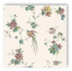 Sophie Charlotte 440.638 bloemen paradijsvogel bloemen vliesbehang