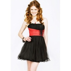 """Quick Overview Short and y homecoming dress. This cocktail dress is perfect for homecoming, turnabout, or any other social occasion! < div="""""""">    <>"""