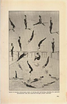 Annette Kellerman's Feats Of Diving Swimming by SurrenderDorothy