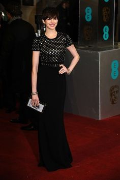 Anne Hathaway At The 2013 BAFTA Awards
