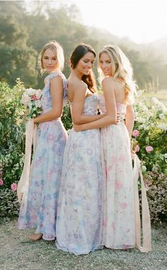 Bridesmaid Dresses, simply gorgeous dress design number 3605954439 - more exquisite takes on dress suggestions. Require other super stylish tips? Please pop by the pin link 3605954439 this instant. Bhldn Bridesmaid Dresses, Bridesmaid Pyjamas, Mismatched Bridesmaid Dresses, Wedding Dresses, Bridesmaids, Designer Wedding Gowns, Bridal Robes, Chiffon Dress, Fashion Dresses