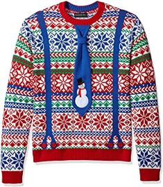 Ugly Christmas Sweater - Ideas that Win all the Ugly Sweater Contests Plus Size Christmas Sweaters, Homemade Ugly Christmas Sweater, Reindeer Ugly Sweater, Ugly Christmas Sweater Vest, Funny Christmas Sweaters, Ugly Sweater Party, Ugly Sweater Contest, Cool Sweaters, Christmas Bingo