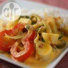 Moqueca, Brasilien, brasilianisches Essen, brasilianisch, Palmenherzen, vegan, vegetarisch, vegetarischer Eintopf http://de.allrecipes.com/rezept/17028/moqueca-de-palmito--brasilianischer-vegetarischer-eintopf-mit-palmenherzen-.aspx