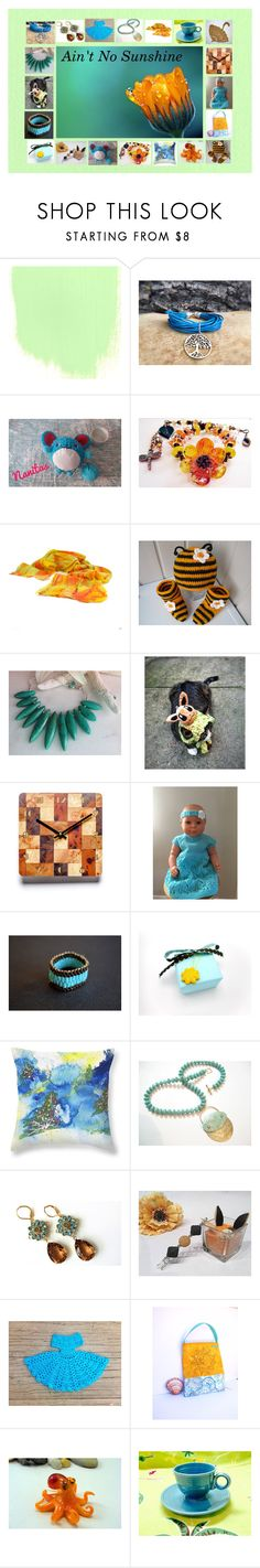 """Ain't No Sunshine: Handmade & Vintage Gift Ideas"" by paulinemcewen ❤ liked on Polyvore featuring vintage"