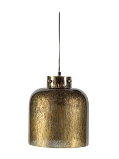 Antiqued Mercury Small Pendant by Four Hands at Gilt