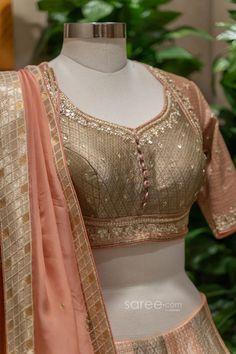 Bridal Lehenga Choli, Saree Wedding, Indian Wedding Outfits, Indian Outfits, Indian Dresses Online, Sherwani, Work Blouse, Festival Wear, Gowns