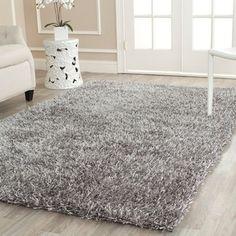 Safavieh Medley Grey Textured Shag Rug (8'6 x 12')   Overstock.com Shopping - The Best Deals on 7x9 - 10x14 Rugs