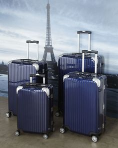 """Limbo"" Luggage by Rimowa North America at Neiman Marcus. Cute Luggage, Best Luggage, Luggage Sets, Travel Luggage, Travel Bags, Pink Luggage, Rimowa Luggage, Cute Suitcases, Suitcase Bag"