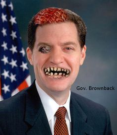 zombie Governor Brownback