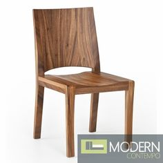 The Drift Chair is constructed of natural teak wood. $535 #rusticfurniture #naturalwood