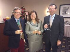 Guests enjoyed a festive drink with our Director of Sales and Marketing at the reveal of our newly-renovated Ballroom.