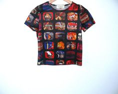 Rare Vintage 90s Le Chateau Japanese TV T Shirt Top by BADUNICORN, $33.00