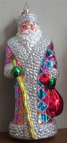 Christopher Radko Tiffany Russian Santa 1012574 | eBay