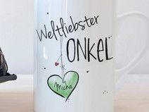 """Weltliebster ONKEL"" - Tasse"