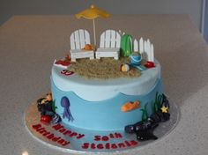 cakefun - beach cake