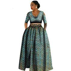 Women african Tradition 2 Piece Plus Size Africa Clothing Fashion Designs Dashiki african wax prints for women clothing African Fashion Designers, African Men Fashion, African Fashion Dresses, Fashion Outfits, African Outfits, African Clothes, Fashion Ideas, Ankara Fashion, Fashion Styles