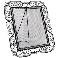 frame + mesh = earring display