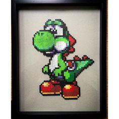 Yoshi perler beads by perlerking604