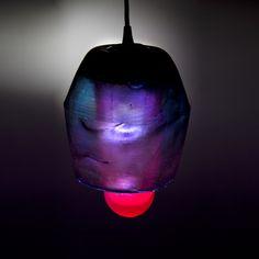 Sugar blown lamp by Fernando Laposse