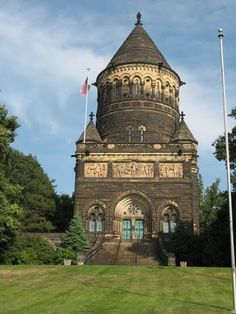 Pres. Garfield Memorial, Lakeview Cemetery  #htabor