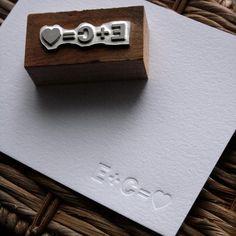 Book Printing – Blind Impression Love Stationery Set with Printing Block – 100 … - Diy Stationery Wedding Invitation Kits, Diy Invitations, Wedding Stationary, Invitation Design, Wedding Paper, Diy Wedding, Handmade Wedding, Wedding Engagement, Wedding Ideas