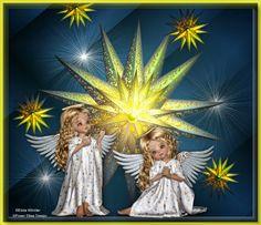 Der Stern   Ü ber  Bethlehem strahlt ein Stern in der Nacht.   Wie sch ö n ist sein Glanz,  seine himmlische Pracht...