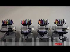 The EMT16 PLUS is the latest commercial embroidery machine from Melco. Available as a single or multi-head configuration, it is the perfect machine.