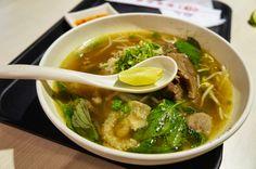 火車頭河粉,檸檬跟碗後的辣椒是重點。@誠記 Daily Special Pho #Noodles #Summer #food #Taiwan