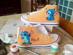Disney Lilo and Stitch Handpainted Shoes