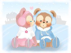 Disney Cartoon Characters, Disney Cartoons, Fictional Characters, Duffy The Disney Bear, Disney Love, Pooh Bear, Phone Wallpapers, Cinderella, Backgrounds