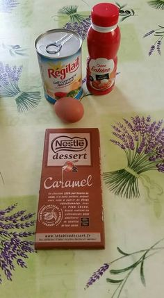 Crème dessert avec les ingrédients sur photo puis p3 28minutes multidelice
