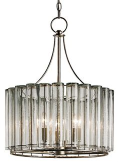Bevilacqua Chandelier Lighting |  [136] - purchased turquoise Currey and Company