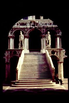 The Doge's Palace. The giants staircase. I had my picture taken right here!!!