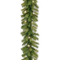 The Holiday Aisle® North Valley White Spruce Artificial Christmas Tree with Clear/White Lights & Reviews | Wayfair Outdoor Garland, Pre Lit Garland, Pine Garland, Light Garland, Berry Garland, Artificial Garland, White Led Lights, Red Lights, Christmas Decorations