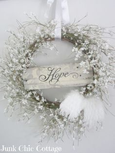 Winter Wreaths For Front Door   This looks like it will be really easy! Description from pinterest.com. I searched for this on bing.com/images