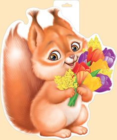 Империя Поздравлений - - Squirrel Pictures, Animal Pictures, Red Hood, Wood Patterns, Applique Quilts, Chipmunks, Pretty Art, Colour Images, Pretty Pictures