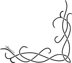 Corner celtic knot pattern by adoomer.deviantart.com on @deviantART